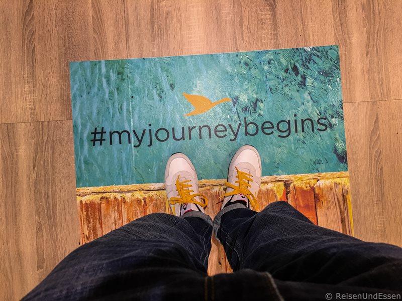 Und wohin geht wohl meine Reise bei Accor Hotels mit #myjourneybegins