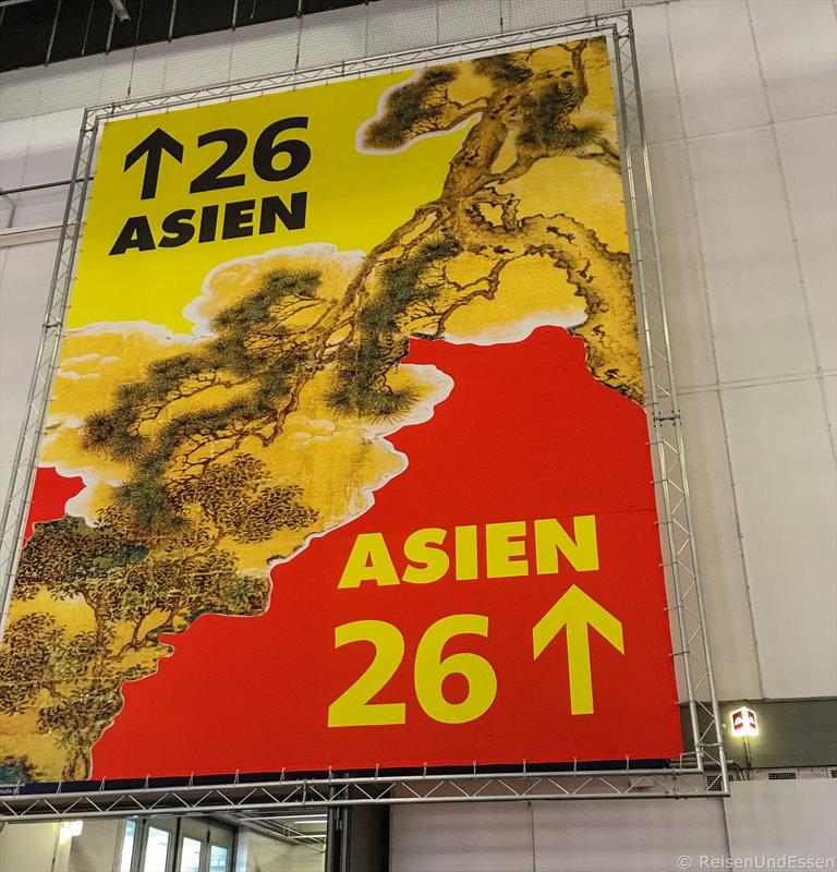 Halle 26 Asien bei den Highlights auf der ITB 2017