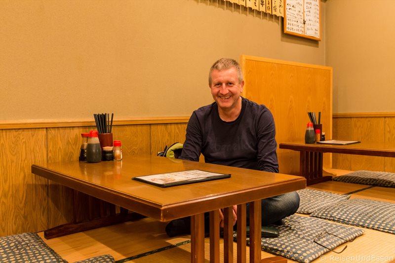 Typisches japanisches Restaurant in Odawara