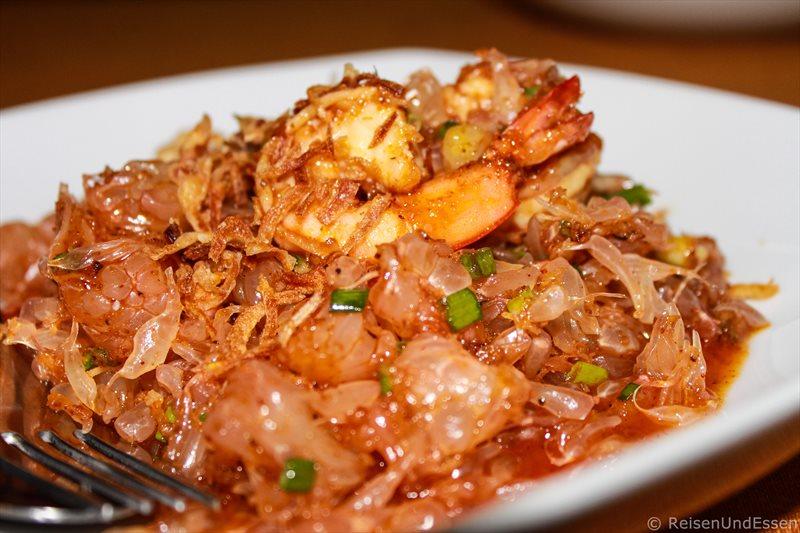 Vorspeise Pomelosalat in Thailand