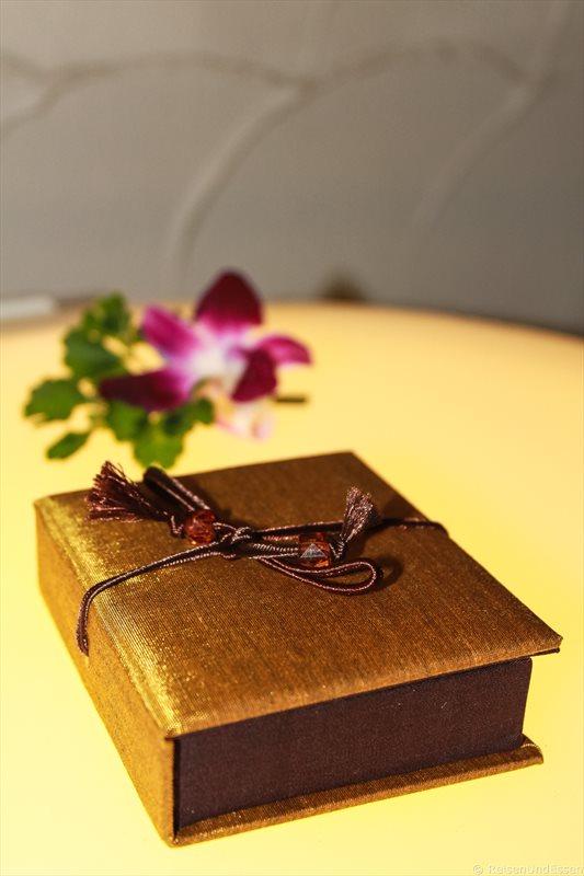 Geschenk zu Silvester in Thailand