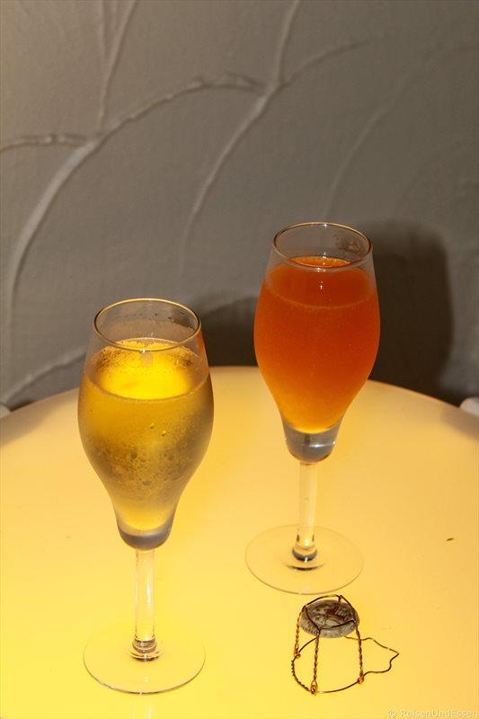Champagner zu Silvester am Nai Harn Beach
