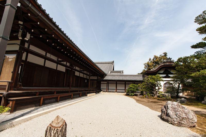 Gebäude im Goldenenen Pavillon in Kyoto