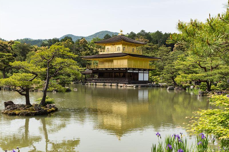Goldenener Pavillon in Kyoto