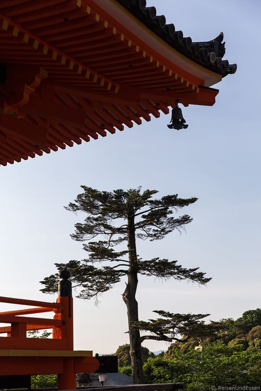 Ecke der Sanjuntoto-Pagode im Kiyomizu-dera