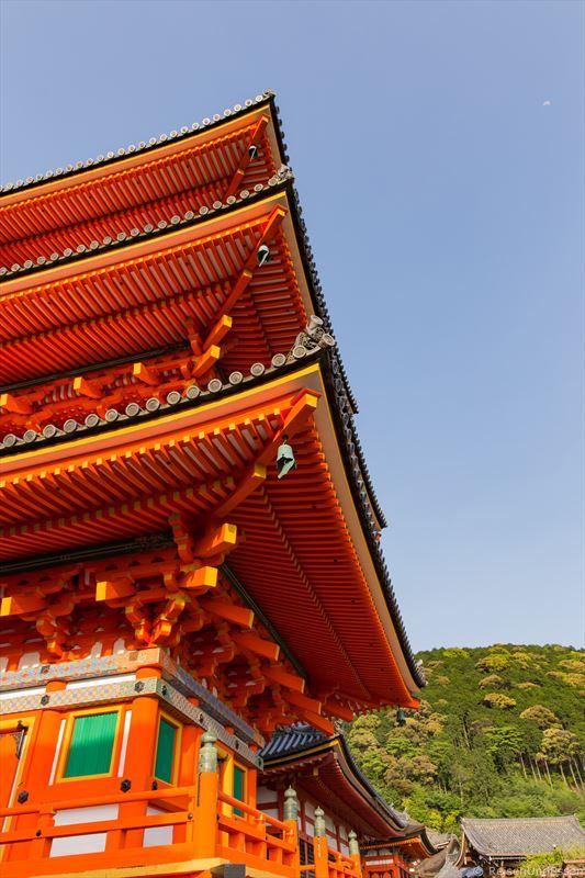 Sanjuntoto-Pagode im Kiyomizu-dera