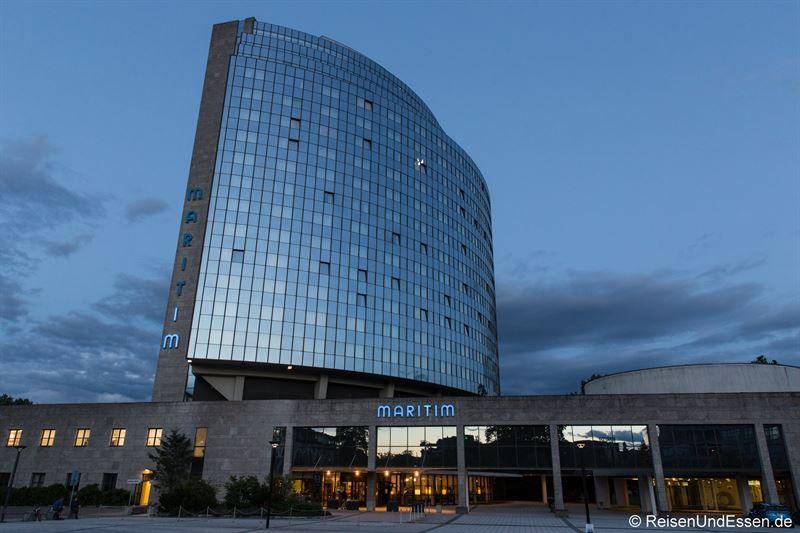 Außenansicht des Maritim Hotel Ulm