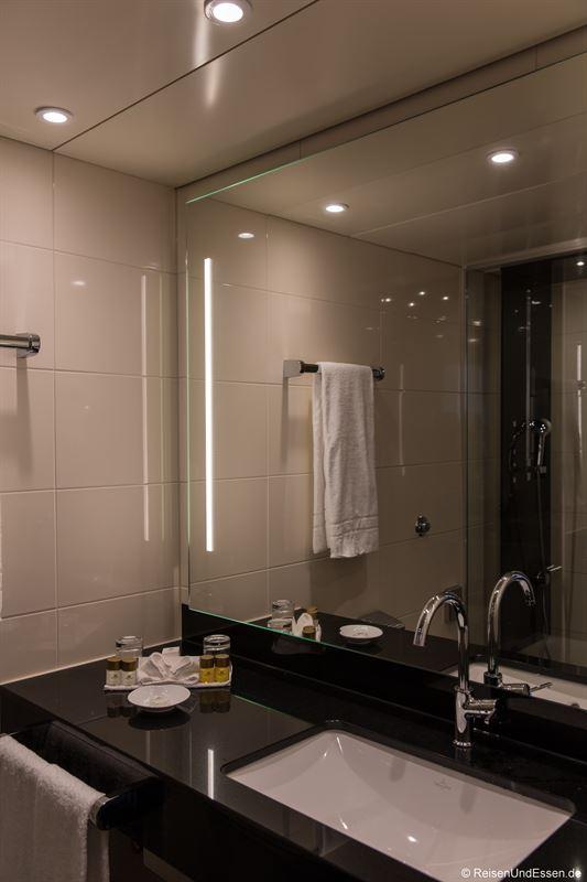 Badezimmer im Maritim Hotel Ulm