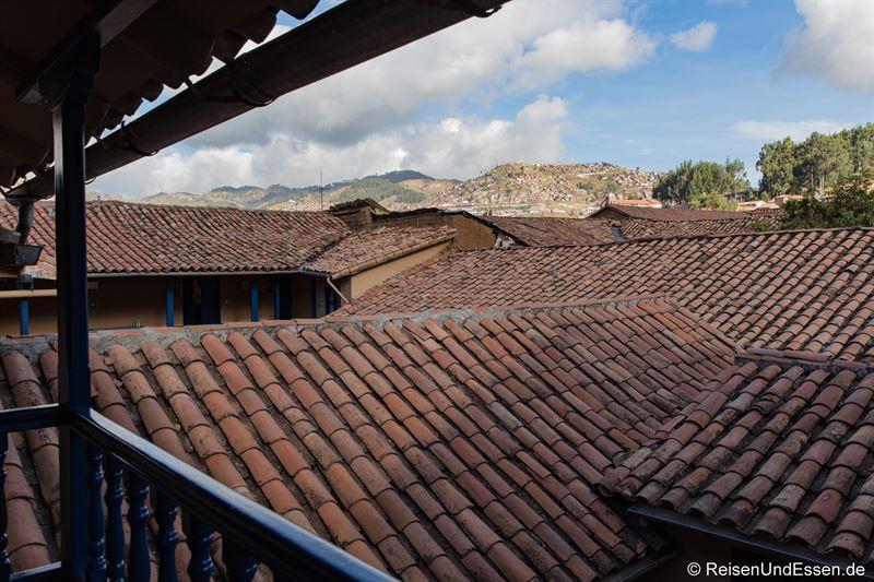 Dächer im Hotel Tierra Viva San Blas