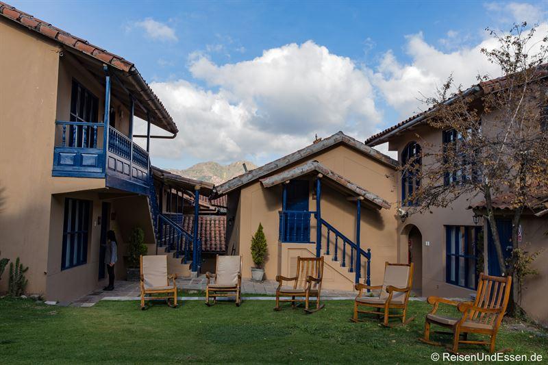 Liegestühle im Hotel Tierra Viva San Blas