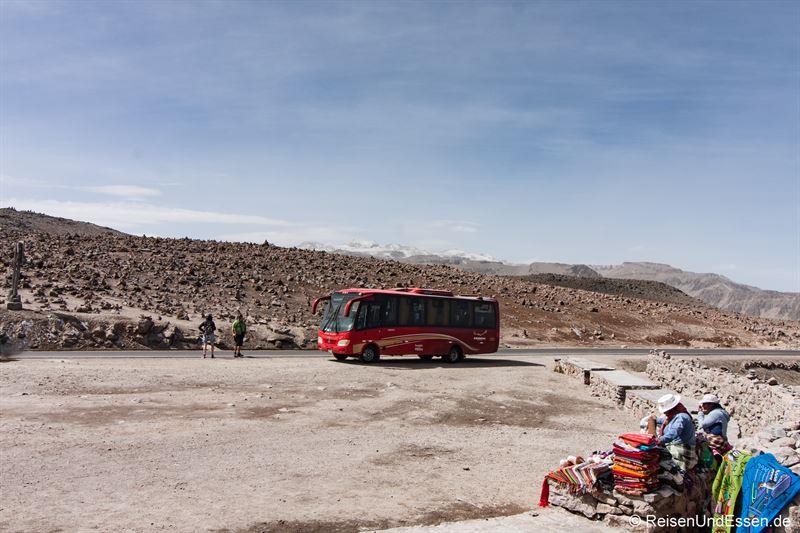 Stopp beim Mirador de los Andes