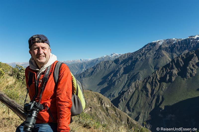 Auf Fotopirsch beim Cruz del Condor