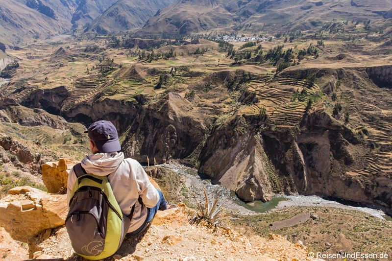 Blick in den Colca Canyon