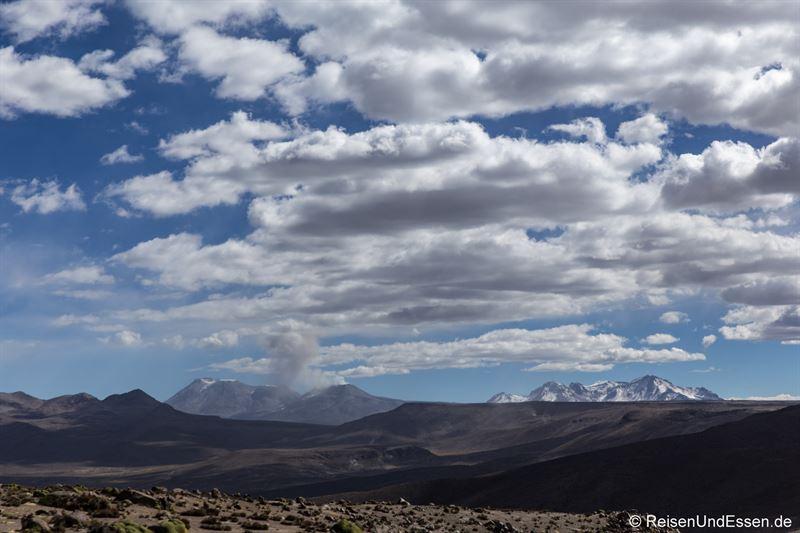 Auf dem Altiplano Richtung Puno