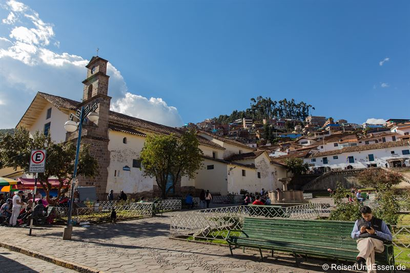 Plaza San Blas in Cusco