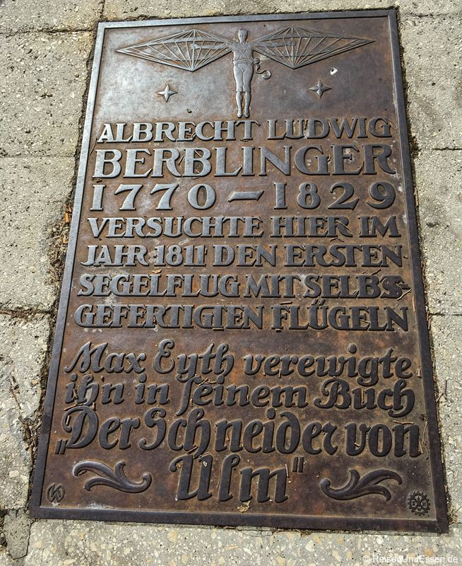 Gedenkstätte an den Schneider von Ulm