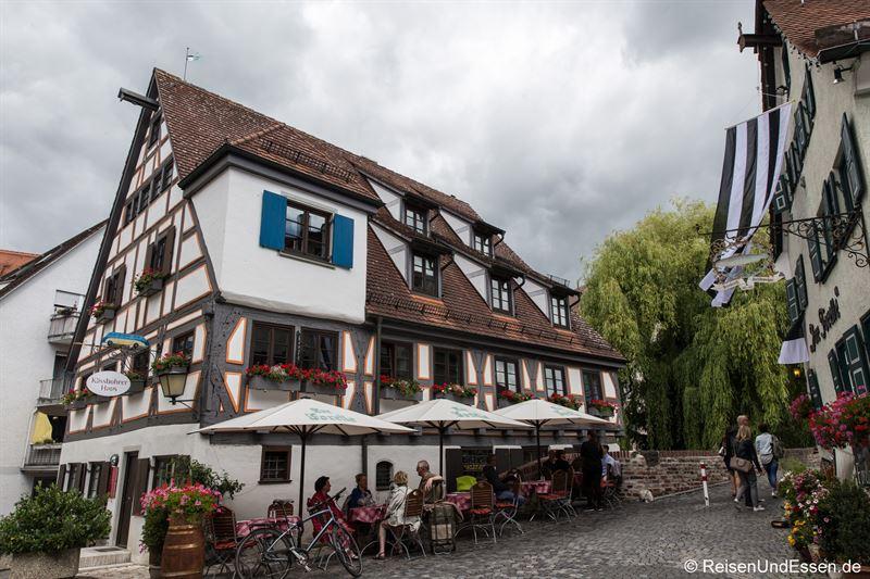 Restaurants im Fischerviertel in Ulm