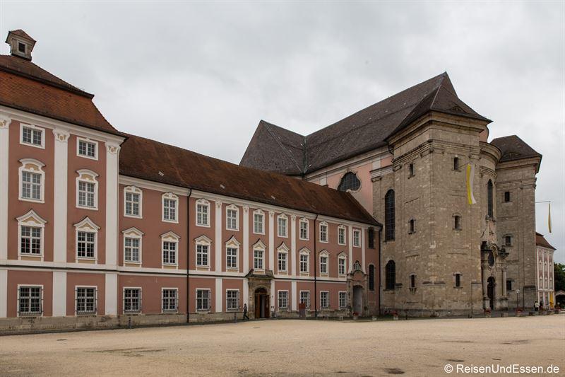 Kloster und Basilika St. Martin in Ulm-Wiblingen