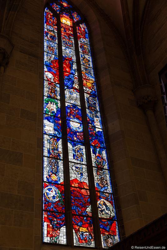 Fenster der Verheißung im Ulmer Münster
