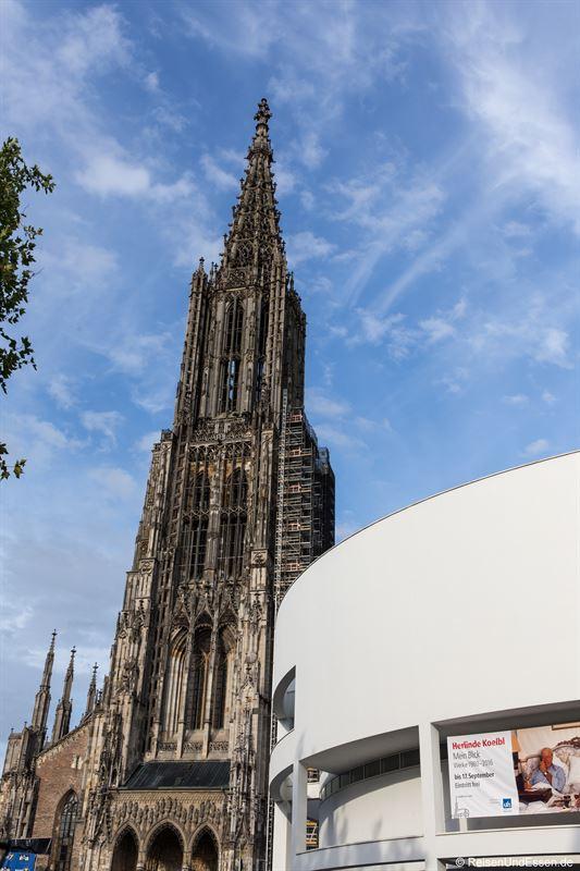 Ulmer Münster und Ulmer Stadthaus