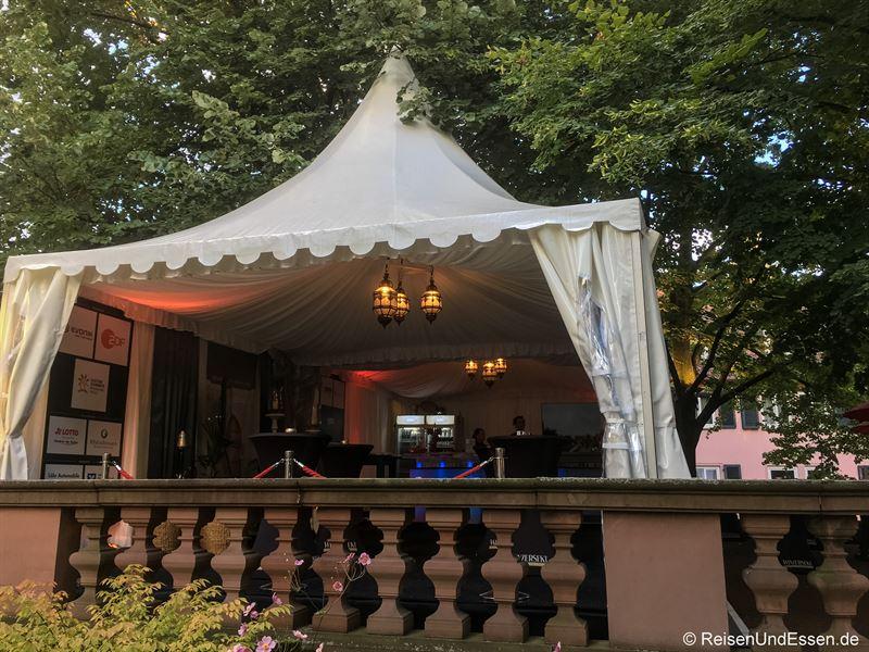Heylshof-Lounge bei den Nibelungen Festspielen in Worms