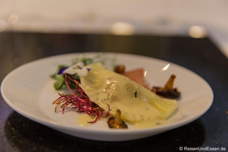Gefüllte Ravioli bei Taste Moments im Maritim München
