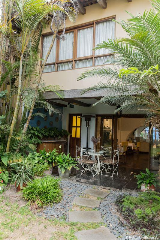 Garten im Huaca Wasi Hotel Boutique in Lima