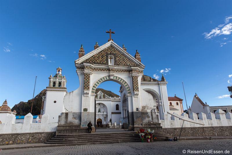 Catedral de la Virgen de la Candelaria in Copacabana