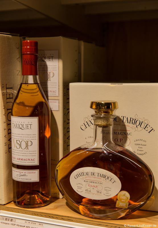 Angebot an Cognac im Frischeparadies