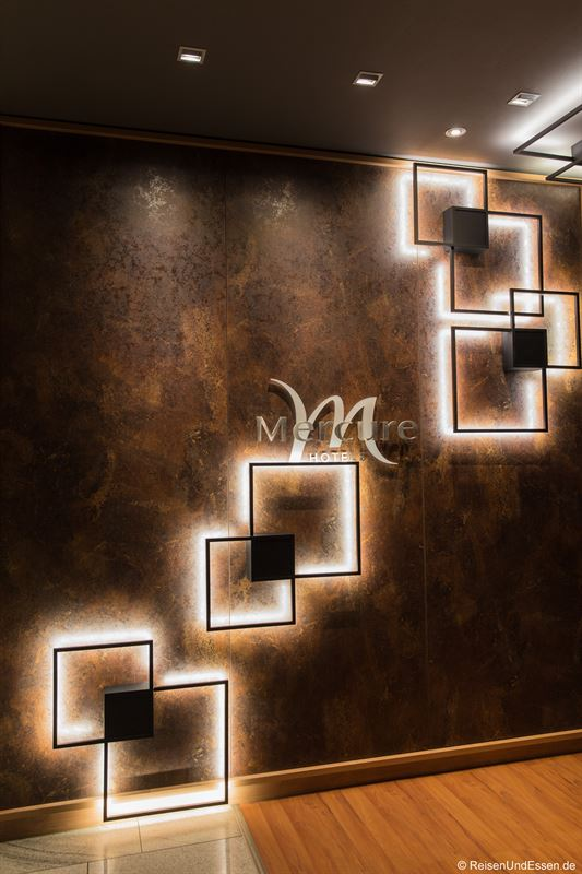 Lobby im Mercure Hotel Mannheim - Stopover im Mercure Hotel Mannheim