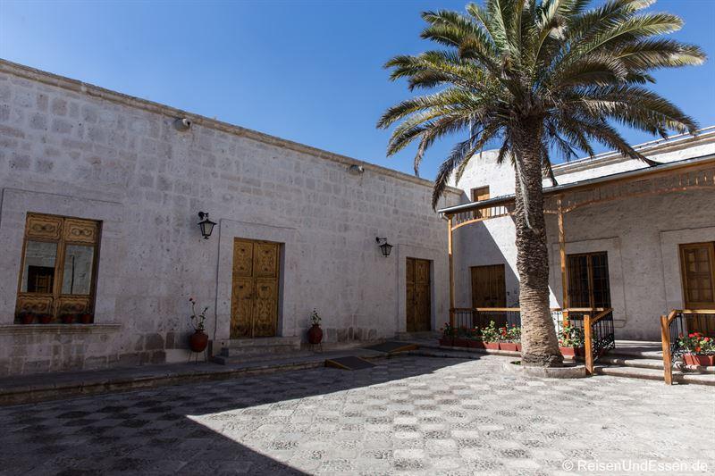 Innenhof - Sehenswürdigkeiten in Arequipa