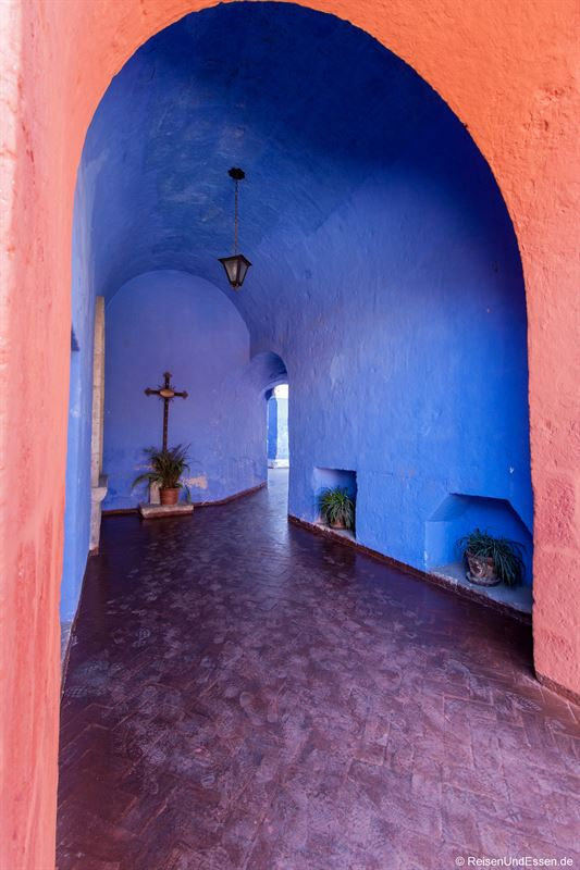 Kreuzgang im Kloster Santa Catalina in Arequipa