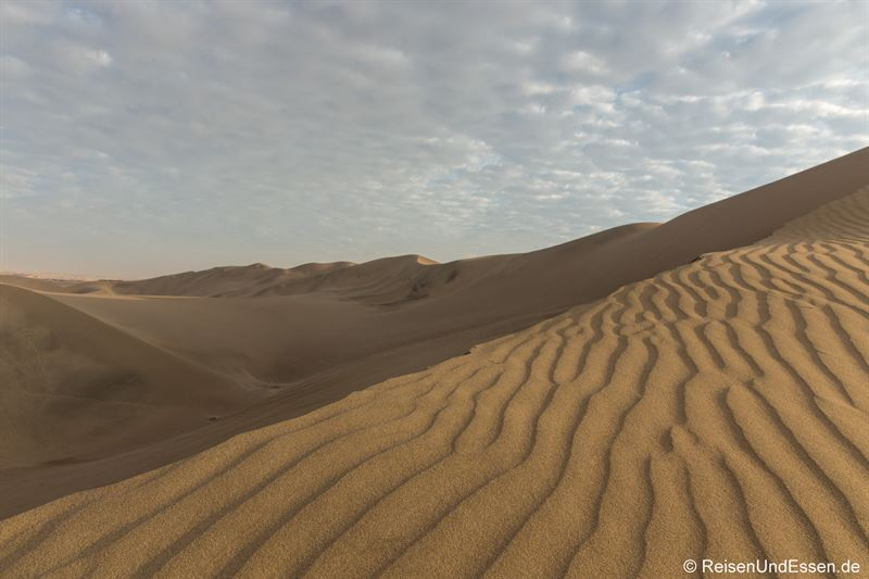 Sandstruktur durch den Wind