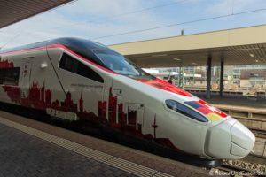 Sonderfahrt ETR 610 von Frankfurt nach Mailand mit Events