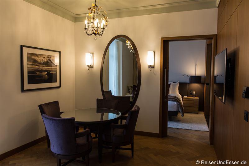 Zimmer im Palace Hotel auf dem Bürgenstock