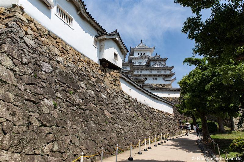 Weg zur Burg Himeji