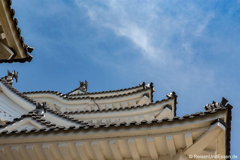 Dächer der Burg Himeji