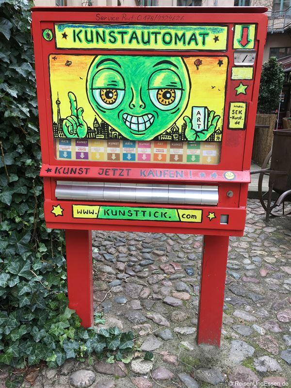 Kunstautomat im Kunsthof Berlin