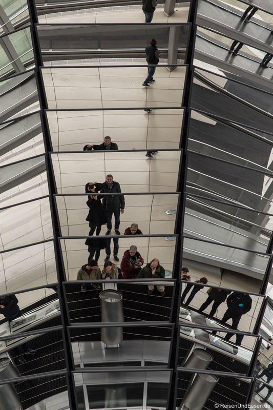 Säule im Reichstag in Berlin