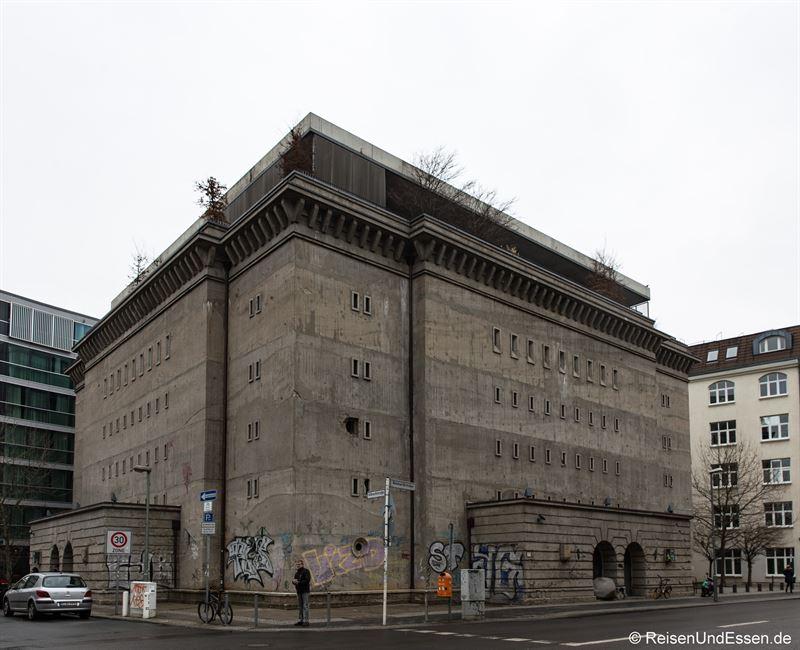 Bunker in Berlin Mitte
