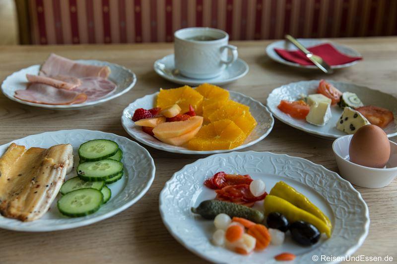 Frühstück im Hotel Bavaria in Berchtesgaden