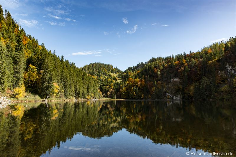 Taubensee im Kaiserwinkl in Tirol