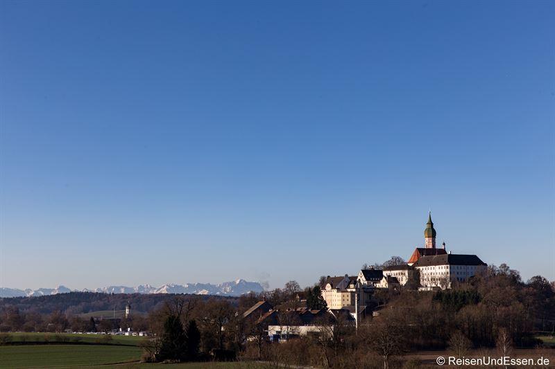 Kloster Andechs und Zugspitze