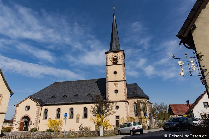 Kirche St. Peter und Paul in Oberschwarzach