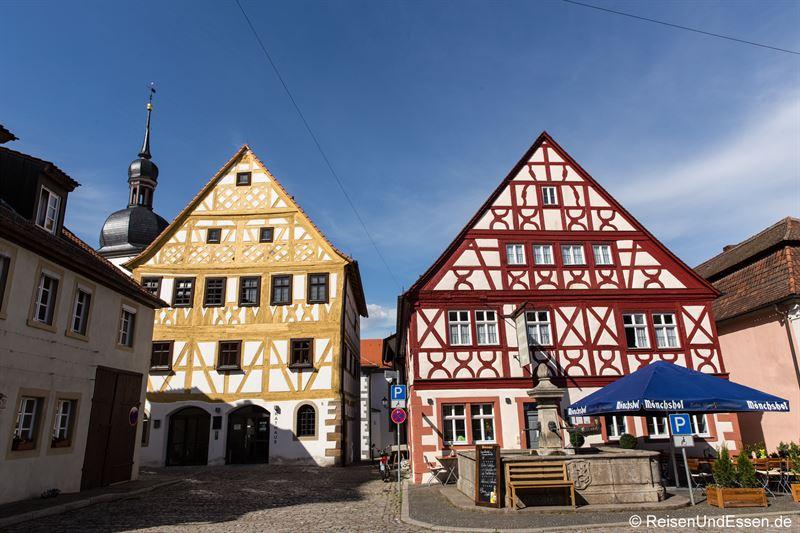 Fachwerkhäuser in Prichsenstadt