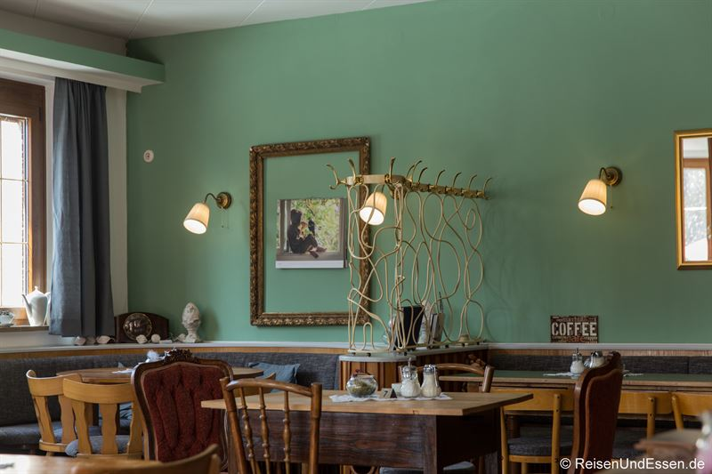Im Cafe Haun in Schwarzach