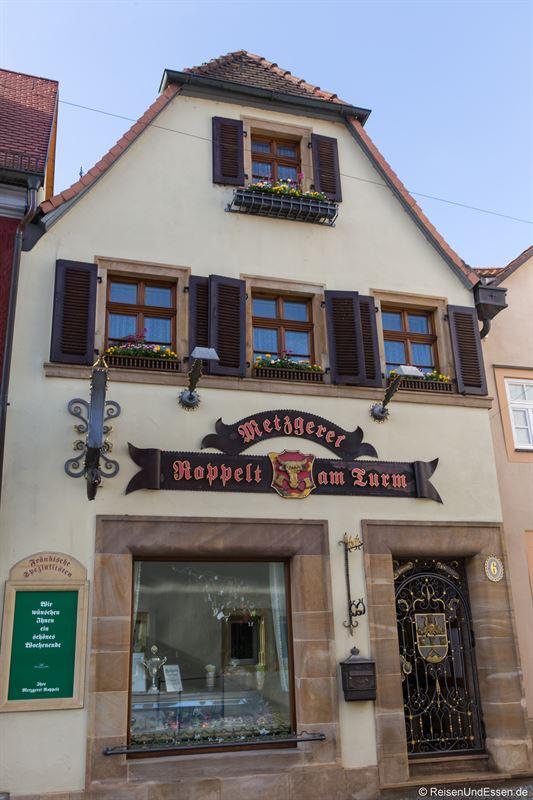 Metzgerei in Prichsenstadt