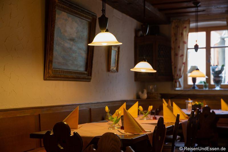 Restaurant Grüner Baum in Prichsenstadt
