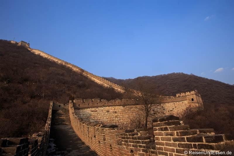 Chinesische Mauer in Mutianyu - Sehenswürdigkeiten in Peking