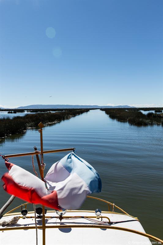 Überfahrt von Puno zu den schwimmenden Inseln der Uros